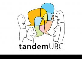 Graphic for UBC Tandem Language Learning program