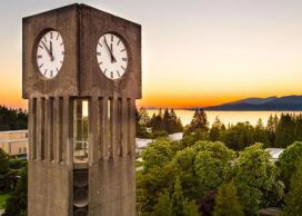 UBC Vancouver clock tower